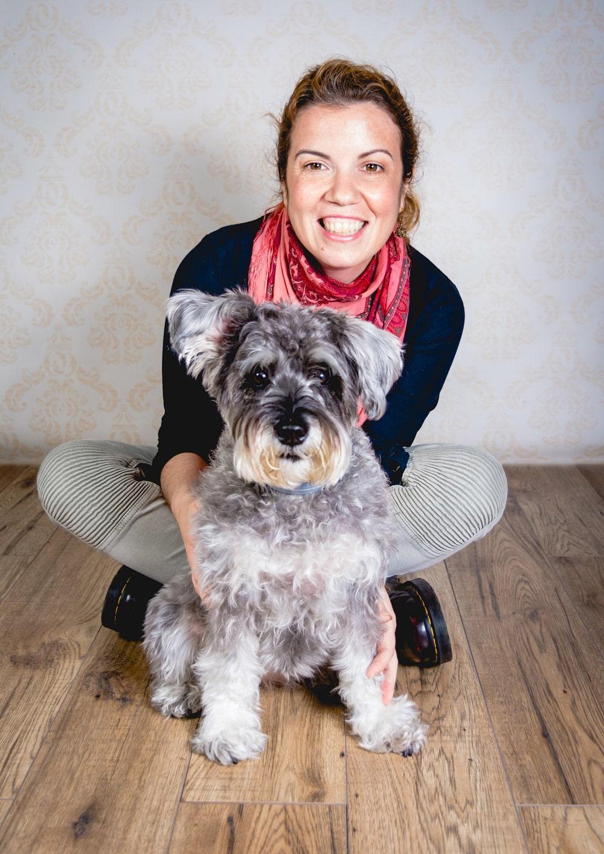 copywriter de negocios caninos Verónica Fernández